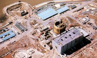 TMI-1 Under Construction